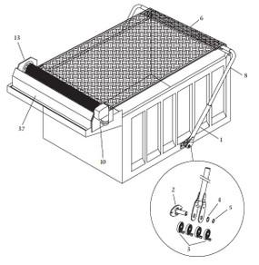 Steel Pivot Arm Assembly (3688/1802076)