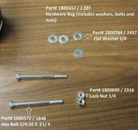 """Flat Washer - 1/4"""" (20-2457/1800784)"""