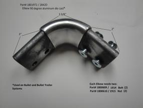 Elbow - 90° - Aluminum Die Cast (2842D/1801972)