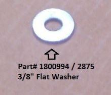 """Flat Washer - 3/8"""" (20-2875/1800994)"""