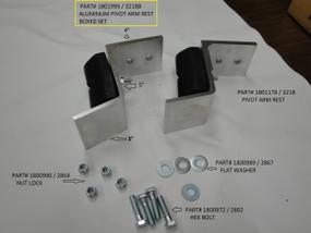 Aluminum Pivot Arm Rest (20-3218B/1801999)