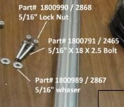 "Lock Nut - 5/16"" (20-2868/1800990)"