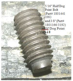 "Soc Head Cap Screw - 5/16"" x 3/4"" (20-3992/1801441)"