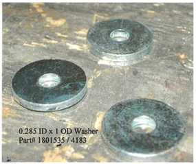 "Flat Washer - .285"" ID x 1"" PD (20-4183/1801535)"