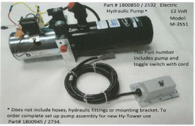 Electric Hydraulic Pump Assembly - 12 Volt M3551 (20-2532/1800850)