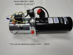 Hydraulic Pump Coil - 12 Volt (20-3833/1801367)