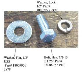 """Flat Washer - 1/2"""" (20-2878/1800996)"""