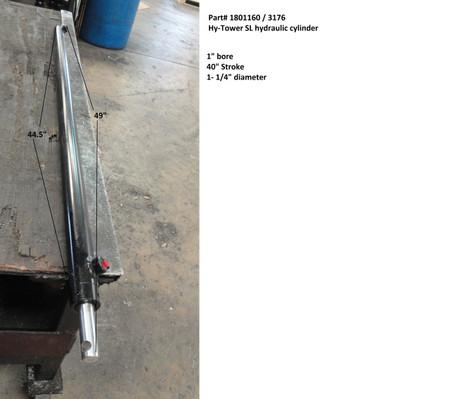 """Hy-Tower SL Hydraulic Cylinder - 1-1/4"""" x 40"""" (20-3176/1801160)"""