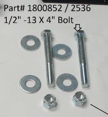 """Hex Bolt - 1/2"""" x 4"""" (20-2536/1800852)"""