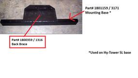Mounting Base (20-3171/1801159)