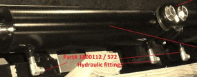 Hydraulic Fitting - 4JIC x 1/4NPT x M190 (20-572/1800112)