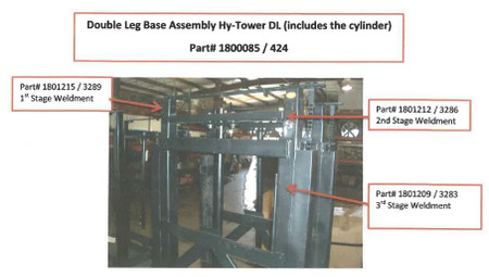 Base - Boxed, Hy-Tower DL (20-424-1800085)