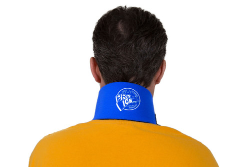 PI120 Pro Ice Neck Ice Wrap, an ice pack to help relieve neck associated with spasm, inflammation, Cervical arthritis or Cervical strain/sprain (whiplash)