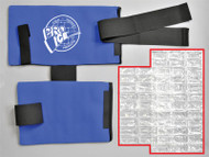 pi201 pro ice replacement/extra ice inserts for the Pro Ice pi200 shoulder/elbow pitchers wrap