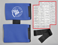 PI221 Replacement/Extra Ice Inserts For the PI 220 Youth Shoulder/Elbow Wrap, Package
