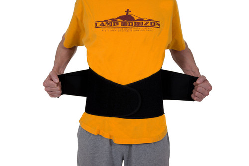 Pro Ice pi700 medium low back ice pack with compression straps