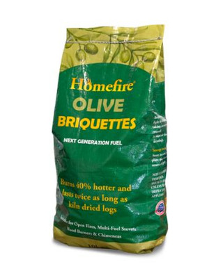 Homefire Olive Briquette