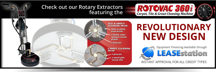 Rotary Carpet & Floor Cleaning Extractors
