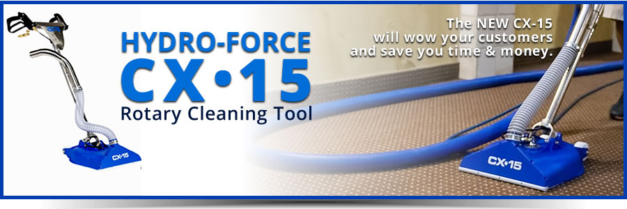HYDRO Force Rotary Cleaning Tool
