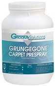 Groom Solutions: GRUNGEGONE Carpet Prespray Powder, Case, CC502A