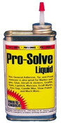 Pro's Choice Pro-Solve liquid is the perfect blend of solvents for the professional. Nail polish, ink, oil paint, latex paint, gum, tar, and many more impossible spots are easily removed with this amazing liquid.