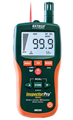 Extech Pinless Moisture Psychrometer + IR Thermometer, AC1227