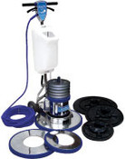 "Hydro-Force: VersaPro Rotary Floor Machine with Std 17"" Apron, MH48"