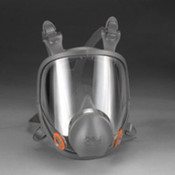 The 6000 series full face respirator by 3M is a reusable respirator offering lightweight comfort and ease of use.