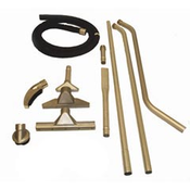 """Minuteman: Dry Pick-up Explosion Proof Vacuum Attachment Tool Kit - 30G - 1 1/2"""", 490006"""