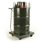 Minuteman: X250 Dual Motor Critical Filter Wet/Dry Industrial Vacuum - 35/55 Gallon, C81455-05