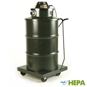 Minuteman: X-839 Series HEPA Critical Filter Wet/Dry Canister Vacuum - 55 Gallon, C83905-55 | The X839 H.E.P.A. Vacuum Series is ideal for the safe and economical removal of hazardous and toxic materials, nuisance dust and fine powders.
