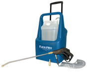 Hydro-Force FlexiPro: Electric Chemical Sprayer w/ Wheels, AS76 | The new FlexiPro Sprayer holds a removable 2.9-gallon bottle (NM4101), allowing you to easily switch chemicals.