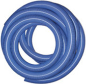 "2.5"" x 50' Heavy Duty Vacuum Hose, Blue, AH160"