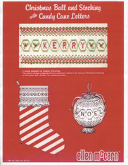 Christmas Ball & Stocking pattern by Ellen McCarn