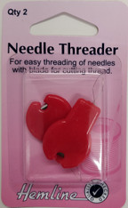 Needles Threader with blade by Hemline - pack of two