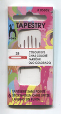 Tapestry needles size 28 for Beading by Pony