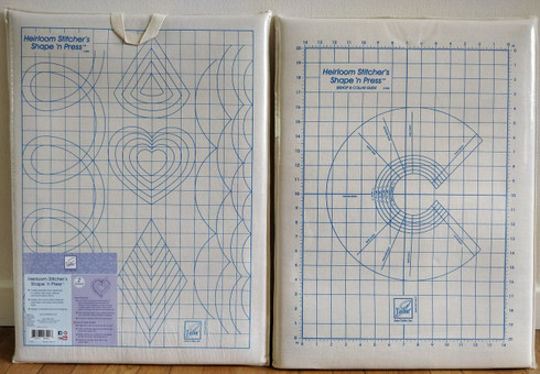 June Tailor Heirloom Stitchers Shape n Press Board - see video on how to use - Please make contact to  request a quote for overseas postage -