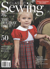 Classic Sewing Magazine Holiday 2018