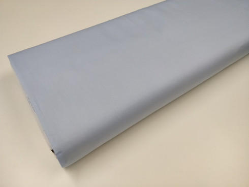 100% Pima Cotton Broadcloth, 114 cm wide priced per metre