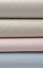 Imperial Broadcloth 65% polyester 35% cotton 152 cm wide, ideal for shirts, dresses, gowns, baby bedding and so much more, pleats beautifully for smocking Now in white, rice, pink or watercolour blue,