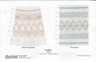Smocking Plate by Ellen McCarn, Round Neck design or Yoke design A 'Sew Easy' Beginner Design