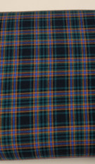 A lovely soft brushed cotton tartan, Irving design, 145 cm wide, Wash at 30 degrees, Priced per metre, Ideal for for winter dresses, blouses and trousers