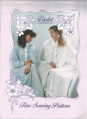 Violet - A Granny nightgown by A Garden of Smocking Sizes 8-10, 12-14, 16-18