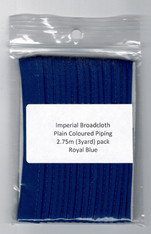 Ready to Sew Piping in Royal 2.75 m (3yrd) pack