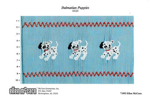 Dalmation Puppies Smocking Plate by Ellen McCarn, Pre-Loved but good condition