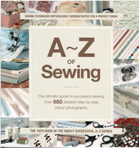 A-Z Sewing by Search Press - old style front cover