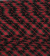 Royal Stewart tartan mini piping, Makes the finishing touches look professional, 100% cotton, Matches the cotton tartan fabrics,  Priced per metre