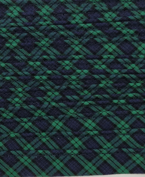 Blackwatch tartan mini piping, Makes the finishing touches look professional, 100% cotton, Priced per metre