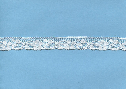 French edging lace in champagne 1.6 cm wide