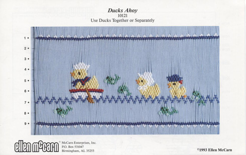 Ducks Ahoy Smocking Plate by Ellen McCarn
